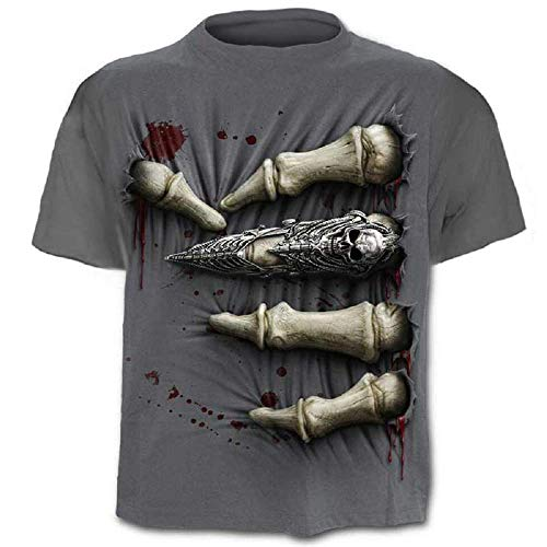 Camiseta Calavera - Camisa Rock - Metal - música - gótica - Camiseta