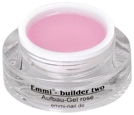 Emmi-Nail Studioline Aufbau-Gel rosé: UV-Gel für eine Nagelmodellage in edler Naturoptik, mittelviskos, hervorragende Hafteigenschaften, 15 ml