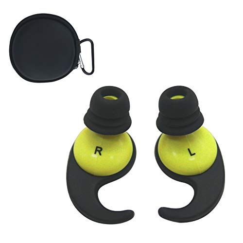Oken Swimming Earplugs Audible Ear Plugs for Swimming, Surfing, Diving and Water Sports (Green)