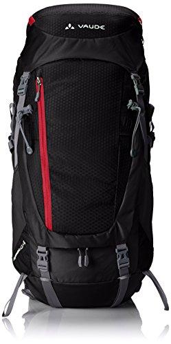 VAUDE Asymmetric 42+8-Liter Backpack, Black