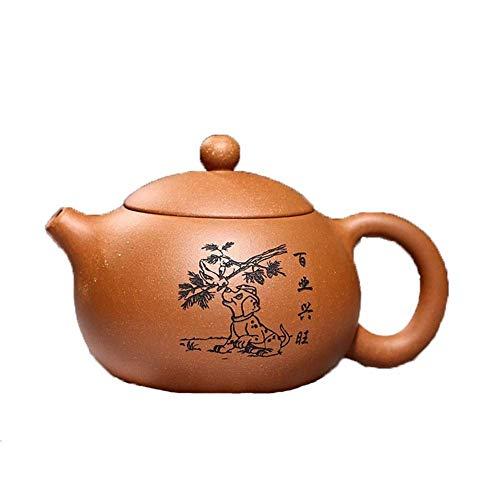 ZJN-JN Conjunto Tetera Genuino de la Tetera Tetera El Mineral de Pendiente hacia Abajo Barro Wang Shi Gongfu Tea Fauci La decoración del hogar Actual