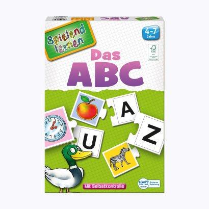 Spielend lernen - Das ABC