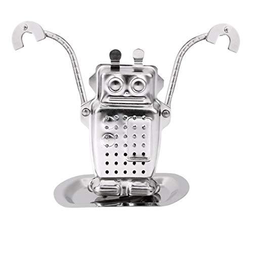 Bleyoum Passoire à thé Robot en Acier Inoxydable Fusée en Forme De Singe Infuseur À Feuilles Mobiles Filtre À Thé Diffuseur De Crépine À Épices À Base De Plantes dans Le Monde Entier