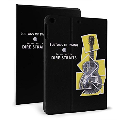Dire Straits Sultans of Swing Slim Lightweight Smart Shell Stand Cover Case for iPad air1/2 9.7' Generation,Auto Wake/Sleep