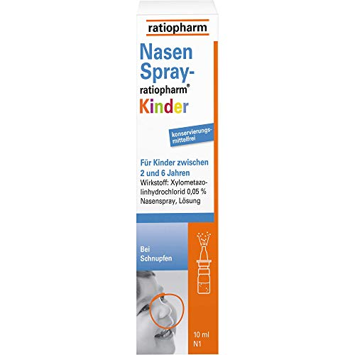 Nasenspray-ratiopharm Kinder, 10 ml
