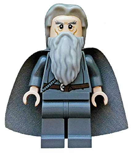 LEGO La Hobbit: Gandalf La Gris Con Hair Y Capa Minifigura