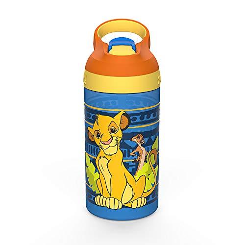 Zak Designs Lion King Water Bottle with Straw