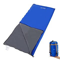 ULTRA COMFORTABLE SLEEPING BAG – Sleeping bags are designed to ensure that after a tiring day of trekking, hiking, travel or any other exploration you can get a good and relaxing night's sleep. DESIGNED FOR EXTREME WEATHERS – Our sleeping bags are de...