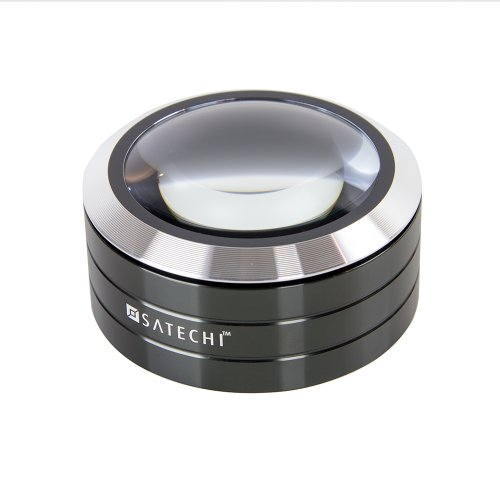 Satechi サテチ ReadMate拡大鏡LEDライト付き デスクルーペ (黒) Black ST-LEDM5XK
