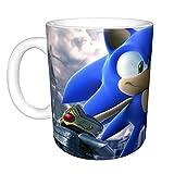 Taza de café Sonic The Hedgehog, Outlander para mujer
