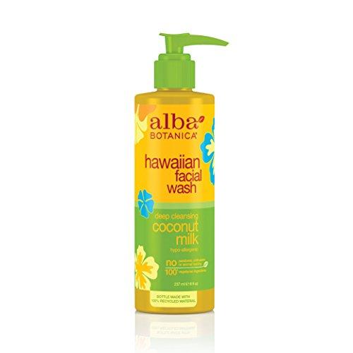 Alba Organics Hawaiian Coconut Milk Facial Wash