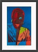 ポスター アンディ ウォーホル Ladies & Gentlemen exhibition 額装品 ウッドベーシックフレーム(ブラック)