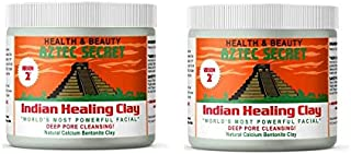 Aztec Secret Indian Healing Clay 454g (Pack of 2)