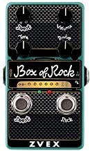ZVex Effects Vertical Vexter Box of Rock Distortion Guitar Effects Pedal