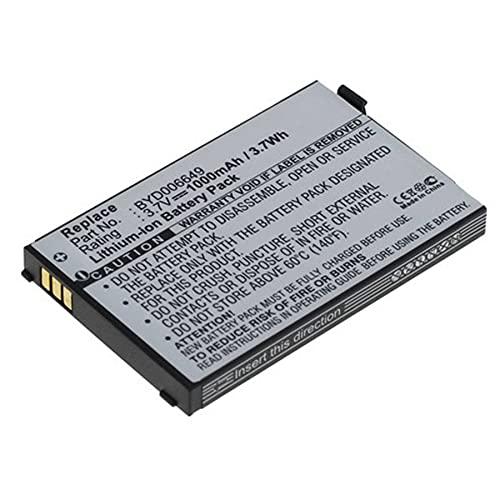 Ersatz-Akku kompatibel mit Philips BYD006649 für Eltern-Einheit Babyphone Philips Avent SCD530, SCD535, NUK Eco Control + Video