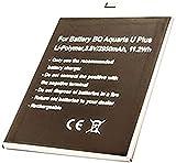 Batterie Compatible avec BQ Aquaris U 3080 Aquaris U Lite, Aquaris U Plus