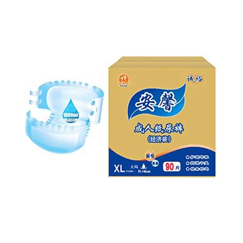 Windeln für Erwachsene Windeln nasse Altenpflege Männer und Frauen Wegwerfwindel Inkontinenzhosen mit auslaufsicherer Hygiene, saugfähige Unterwäsche