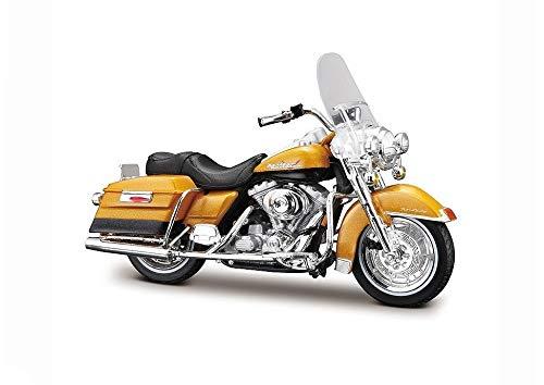 Maisto Harley-Davidson 1999 FLHR Road King Gold 1:18 schaalmodel motorfiets