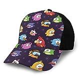 Cappello da baseball hip hop, cappello da sole, con uccelli volanti arrabbiati, con varie espressioni, giocattolo per bambini e donne, per uomini e donne