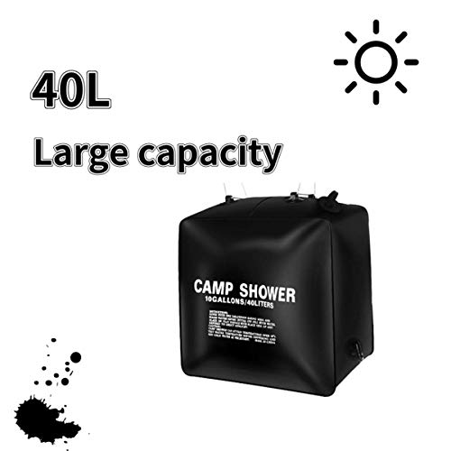Amazing Deal Summer Solar Shower Bag, 10 gallons/40L Solar Heating Portable Camping Shower, Outdoor ...