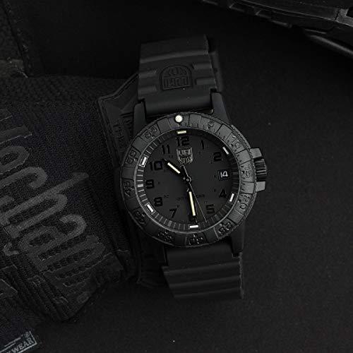 [ルミノックス]LUMINOX腕時計レザーバックシータートル0300シリーズブラックアウト0301.BOメンズ[並行輸入品]