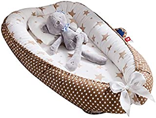 Baby Lounger, Eip.t Baby Nest Portable Super Soft Organic Cotton and Breathable Newborn Lounger - Perfect for Co-Sleeping ...