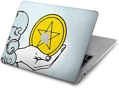 R3722 Tarot Card List price Ace of Pentacles Coins Cover P Case Large discharge sale for MacBook