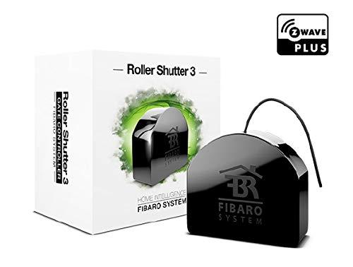FIBARO Roller Shutter 3 Smart Home Intelligence FGR-223 ZW5 - Interruptor de persiana
