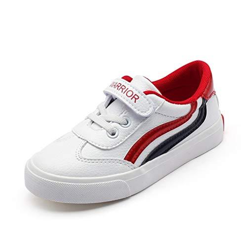 Feidaeu Jungen und mädchen lässige Schuhe Bequeme kleine weiße Schuhe das ganze Jahr über universal Leder atmungsaktive grundschule Sportschuhe Outdoor wild Schuhe