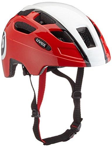 Uvex Finale Casco para Bicicleta de montaña de niño con luz LED,...