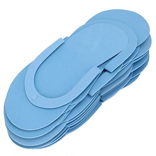 【 】Infradito usa e getta, 12 paia di pantofole usa e getta per hotel ecologici, donna da viaggio per uomo per salone(Blue take picture order)
