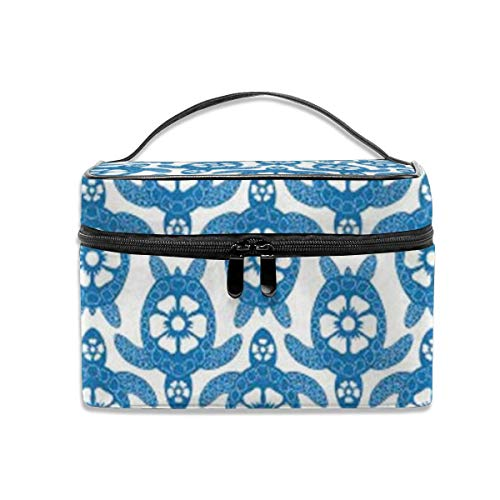Sea of ​​Turtles Travel Makeup Train Case Makeup Cosmetic Case Organizer Portable Artist Storage Bag