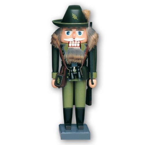 KWO Forest Woodsman Warden German Nutcracker - Approx 11 in Tall - Made in Germany …