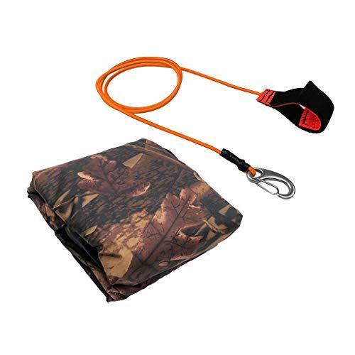 SM SunniMix Cubierta de Almacenamiento para Kayak de 8 Pies-20 Pies Bloqueador Solar para Polvo de Canoa Y - 4m