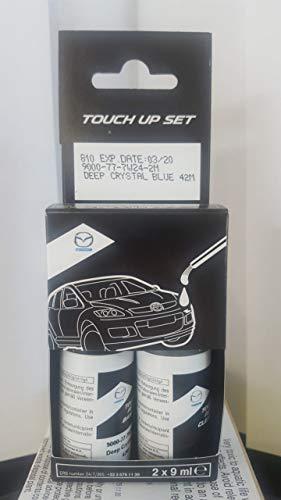 Mazda Original Lackstift - Farbe wählen (42M - Mitternachtsblau Metallic)