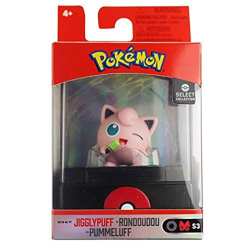 Lively Moments Alola Pokémon Figur / Sammelfigur Pummeluff / Jigglypuff im Setzkasten