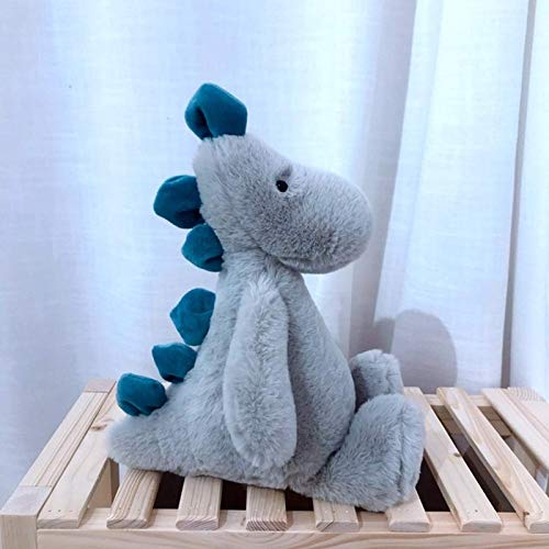 N / A Kawaii Fox Dinosaur Doll Stuffed Animal Plush Toys for Children Girl Boy Kids Cute Dox Gift Soft Cartoon 30cm