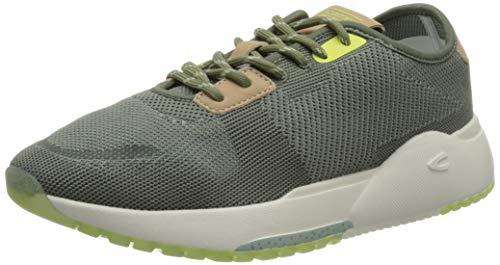 camel active Damen Ramble Sneaker, Green/Aqua, 40 EU