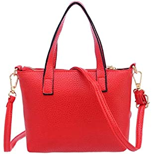 VPASS Woman Fashion Leather Handbag V-Shape Shoulder Bag Classic Women Purse Tote Ladies Satchel Purse:Greatestmixtapes
