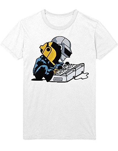 T-Shirt Musicians at Work C112261 Weiß XL