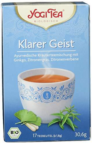Yogi Tea Klarer Geist Tee Bio (1 x 30,6 g)