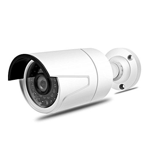 Seculink 5MP PoE IP Cámara 1920P HD ONVIF Bullet Visión Nocturna IR-Cut Detección de Movimiento Alarma IP66 Impermeable CCTV Video Vigilancia