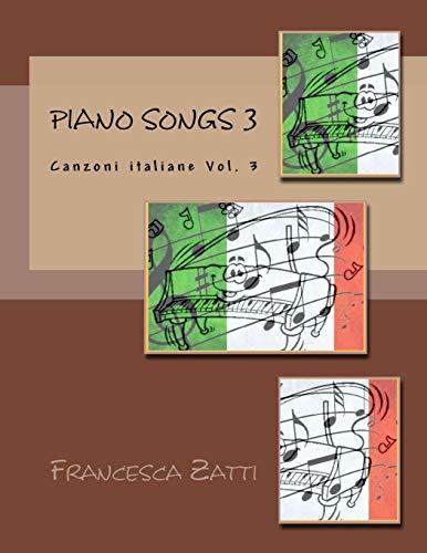 Piano songs 3: Canzoni italiane Vol. 3