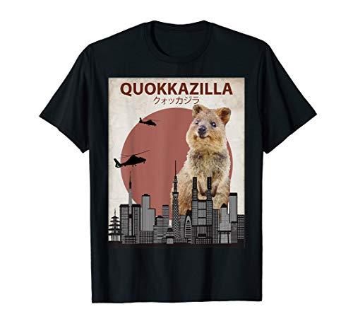 quokkazilla Funny Quokka T-Shirt | GIANT Australien Monster
