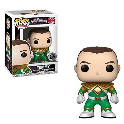 LBBD Green Ranger (sin Casco) de Televisión: Power Rangers Colección Exquisita Figura - 3.9inch