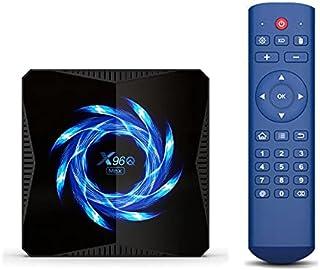 Android 10.0 TV-box, X96Q Max 4GB RAM 64GB ROM 2021 uitgerust met Mini Wireless Keyboard Allwinner H616 2,4 G / 5,8 G Dual...