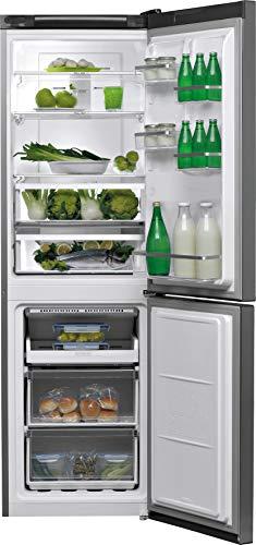 Bauknecht KGNF 183 congelatore, A+++ / 189 cm di Altezza / 181 kWh Anno / 234L / Frigorifero da 104 l/Total NoFrost Zone 0 Fresh/Active Freeze