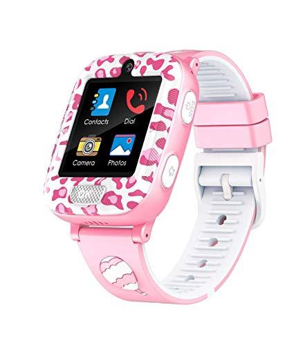 Touchscreen 1.54 inch Smartwatch mit Musik und Spielen, Kinder Phone Watch mit Digital Camera, Mädchen Jungen