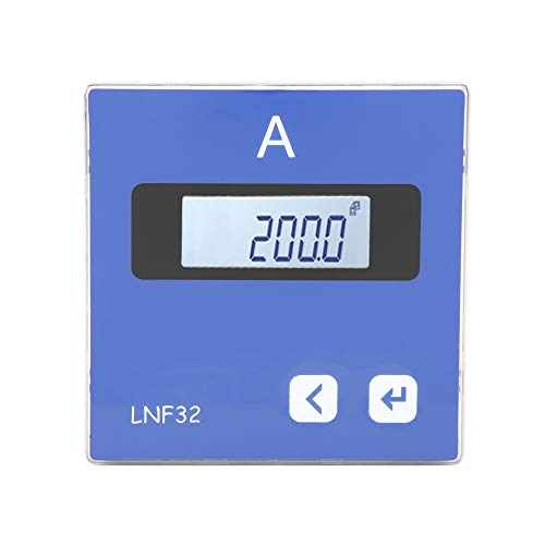 Save %9 Now! Single-phase Ammeter AC Ammeter, LNF32/ LNF32-C Digital Ammeter Panel LCD Display Curre...