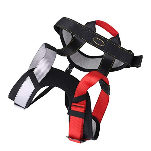 01 Cinturón de Seguridad de Medio Cuerpo, cinturón de Medio Cuerpo, Resistencia al Desgaste antienvejecimiento a Gran altitud Durable para Escalada al Aire Libre